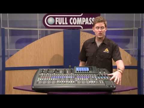 Behringer X32 Digital Mixer - Midas Mic Preamp, 32-channel, 16-Bus Overview | Full Compass