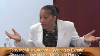 Terry McMillan Exclusive overview of her new book