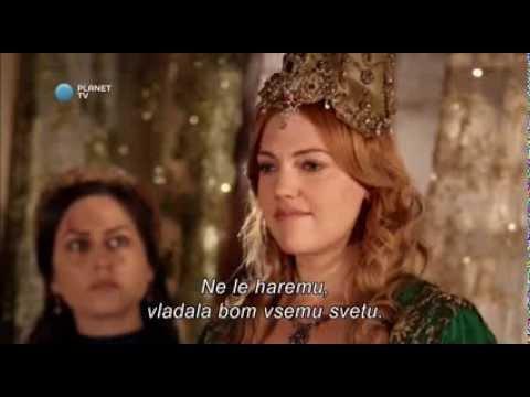 Muhtesem Yüzyil (Sulejman Veličastni) - Hurrem's Monologue (slovenian and english subtitles) - HD