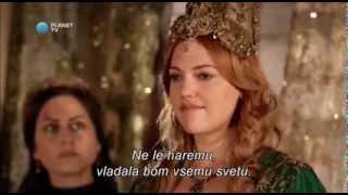 Muhtesem Yüzyil  (Sulejman Veličastni) - Hurrem's Monologue (slovenian and english subtitles) - HD