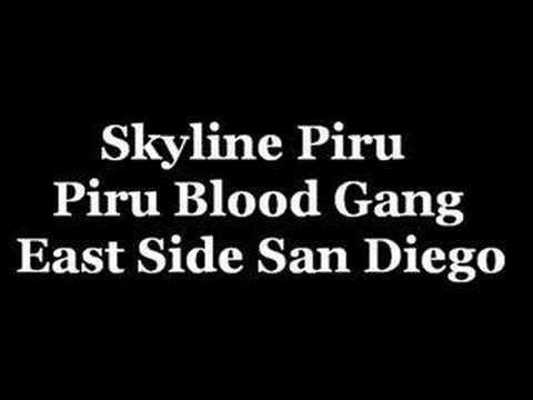 Skyline Piru - Piru Blood Gang Video