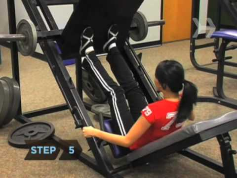How To Do a Leg Press Image 1