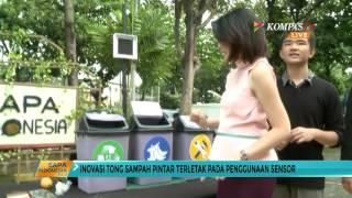 Tong Sampah Pintar Solusi Masalah Lingkungan