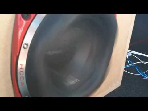 Extreme Subwoofer Excursion (Orion HCCA 10