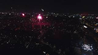 Amsterdam 2017/2018 New Years Eve Fireworks | Drone (4K)