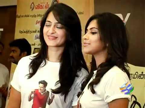 Anushka Amala Paul With Surya In Singam 2 video