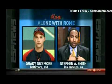 Grady Sizemore - 7/15 Jim Rome Is Burning