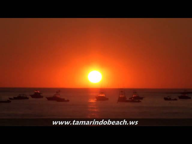 Sunset / Atardecer - Playa Tamarindo Beach Costa Rica