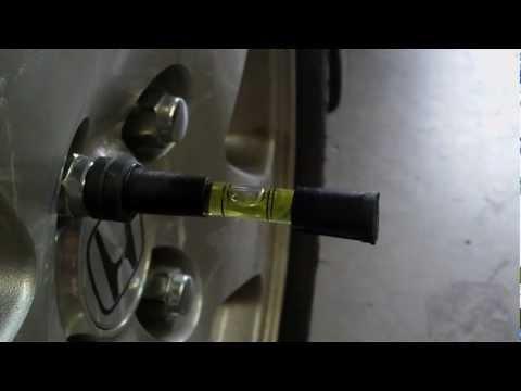 DIY Wheel Alignment Camber Tool