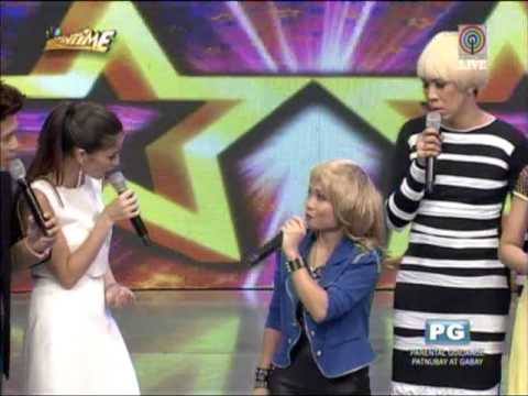 'Charice' sings hit song on 'Showtime'