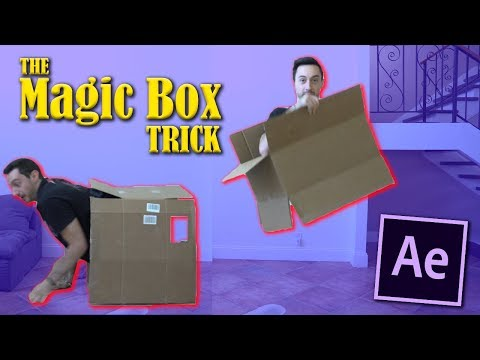 Zach King Magic Box Trick Effect Advanced Tutorial | After Effects CC 2017