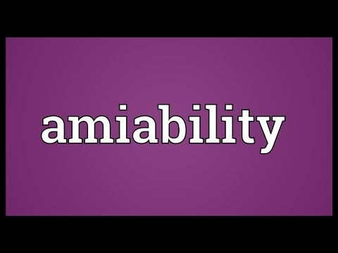 Header of amiability