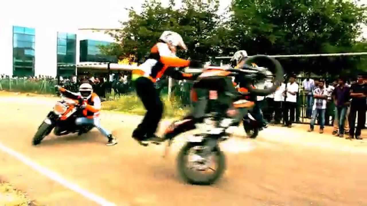 Ktm Duke Bike Stunts Ktm Duke 200 Stunts by Team