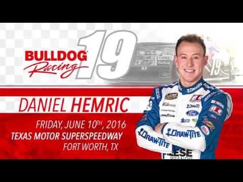 Daniel Hemric Races Texas Motor Speedway 2016