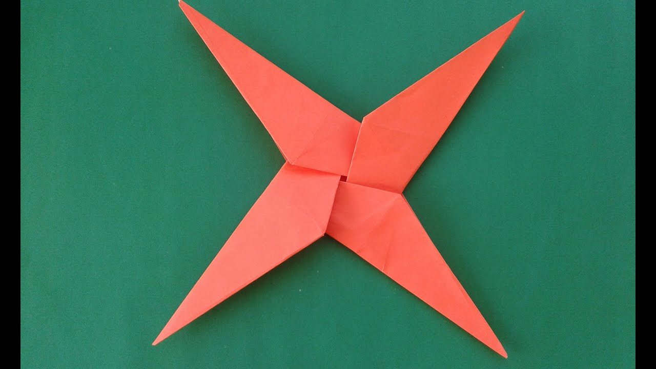 origami ninja star - YouTube - photo#2