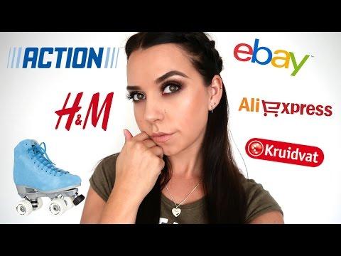 SHOPLOG ACTION, ALIEXPRESS, H&M, APPLE WATCH, ROLLERSKATES, LADY CUP - Rachel Kromdijk