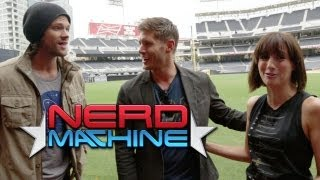 Jared Padalecki, Jensen Ackles - Exclusive Interview - Nerd HQ (2013) HD - Alison Haislip