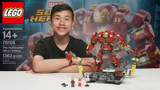 LEGO HULKBUSTER!!! Avengers Endgame is Coming! Marvel Super Heroes LEGO Build & Review!
