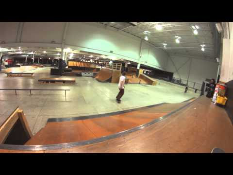 Rollerblading & Skateboarding Montage at Black Diamond Skatepark Philly 2013