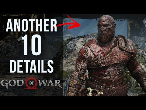 Another 10 AWESOME Details in God of War thumbnail
