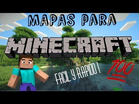 Como descargar mapas para Minecraft launcher
