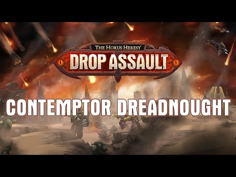 Contemptor Dreadnought | The Horus Heresy: Drop Assault - Warhammer 40,000