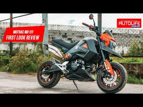 Motrac MX-EFI   Test Ride and Review   Autolife Nepal