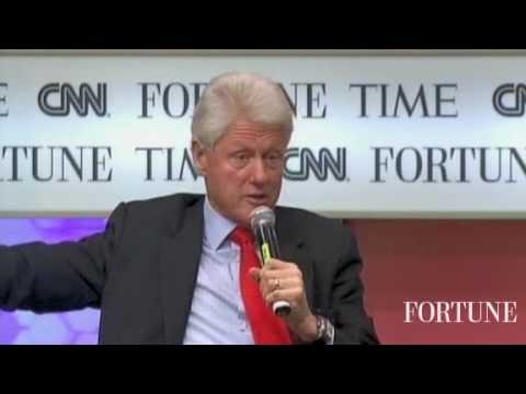 Bill Clinton on being president, Obama, oil spill