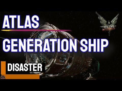 Elite Dangerous: Atlas Generation Ship - A Father's Sacrifice