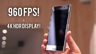 Sony XZ Premium: 960fps + 4K HDR Display!