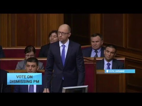 Vote on Dismissing PM: Ukrainian government faces vote of no confidence in parliament