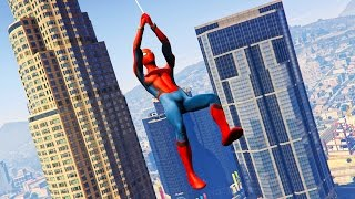 NEW SPIDERMAN MOD in GTA 5! (GTA 5 Mods)