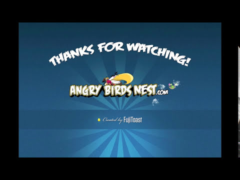 Angry Birds Lite | 3 Star Walkthrough | Level 12
