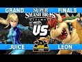 Smash Ultimate Tournament Grand Finals - Juice (Zero Suit Samus) vs LeoN (Bowser) - CNB 173