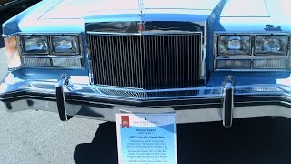 1977 Lincoln Versailles Four Door Sedan Blu LakeMirror101715