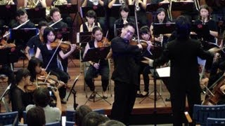 Ray Chou Chang Plays Butterfly Lovers Violin Concerto Live 張睿洲演奏 34 梁祝 34 小提琴協奏曲 現場