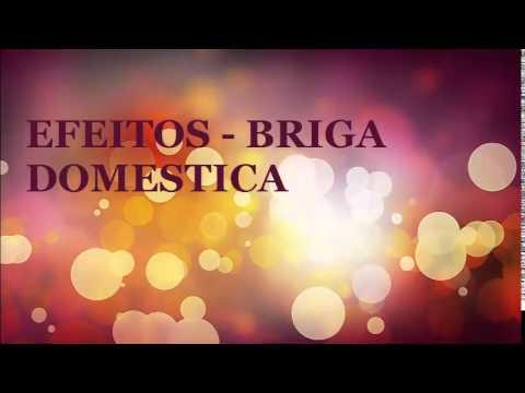 EFEITO SONORO  BRIGA DOMESTICA  CASAIS  -  EFFECT VOICED  DOMESTIC SQUABBLE  - QUALIDADE VINHETA