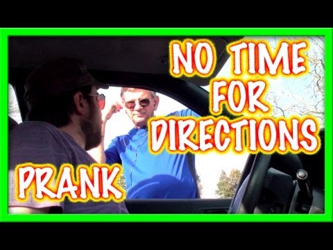 No Time For Directions PRANK ~ Hidden Camera Public Pranking!