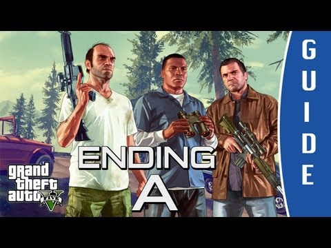 GTA V (Grand Theft Auto 5) ENDING A: Something Sensible - Kill Trevor   Final Mission [HD]