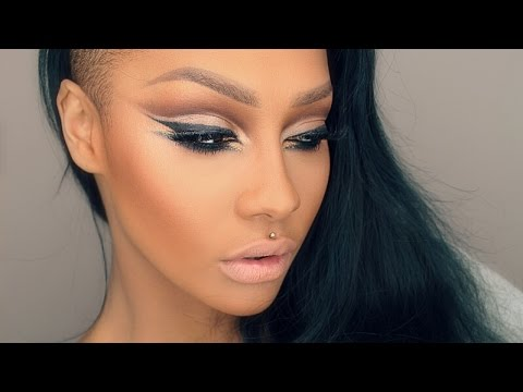 ALL ABOUT EYES ARAB INSPIRED WINGED LINER MAKEUP TUTORIAL - SONJDRADELUXE