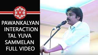 JanaSena Chief PawanKalyan Interaction - Tal Yuva Sammelan Full Video   JanaSena   Pawan Kalyan
