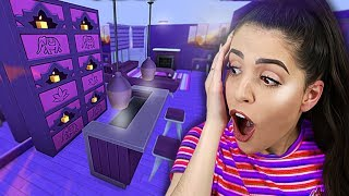 FIZ UMA CASA TODA ROXA (Desafio da Cor - The Sims 4)