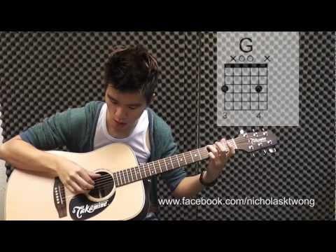 #27 That Xx - G Dragon - 吉他教学 有吉他谱 - 建德吉他教学 video