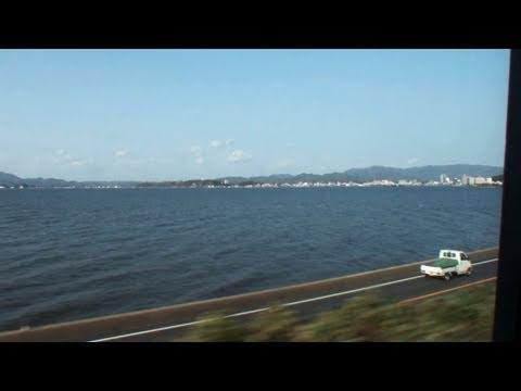 【車窓風景】 JR特急「やくも」 上り(1) 出雲市→松江