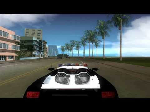 Porsche Carrera GT Police GTA VICE CITY