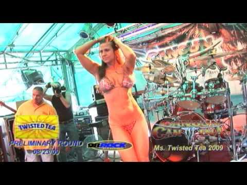 Twisted Tea Bikini Contest Cancun Cantina 08 23 09 1