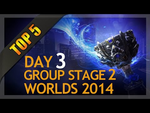 Top 5 Plays Worlds Group Stage 2 Day 3 League of Legends