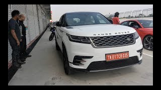 RANGE ROVER Velar on the RACE Track