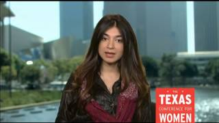 Shiza Shahid, CEO of the Malala Fund, at the 2014 Texas Conference for Women