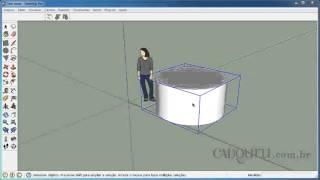 3 1 Calculando o Peso de um Cilindro de Concreto Pelo SketchUp